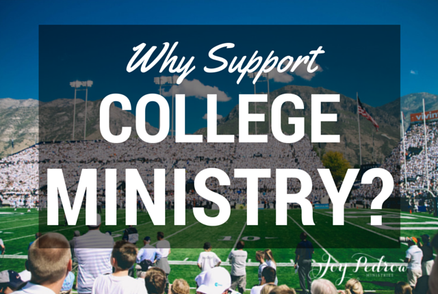 Why Support College Ministry
