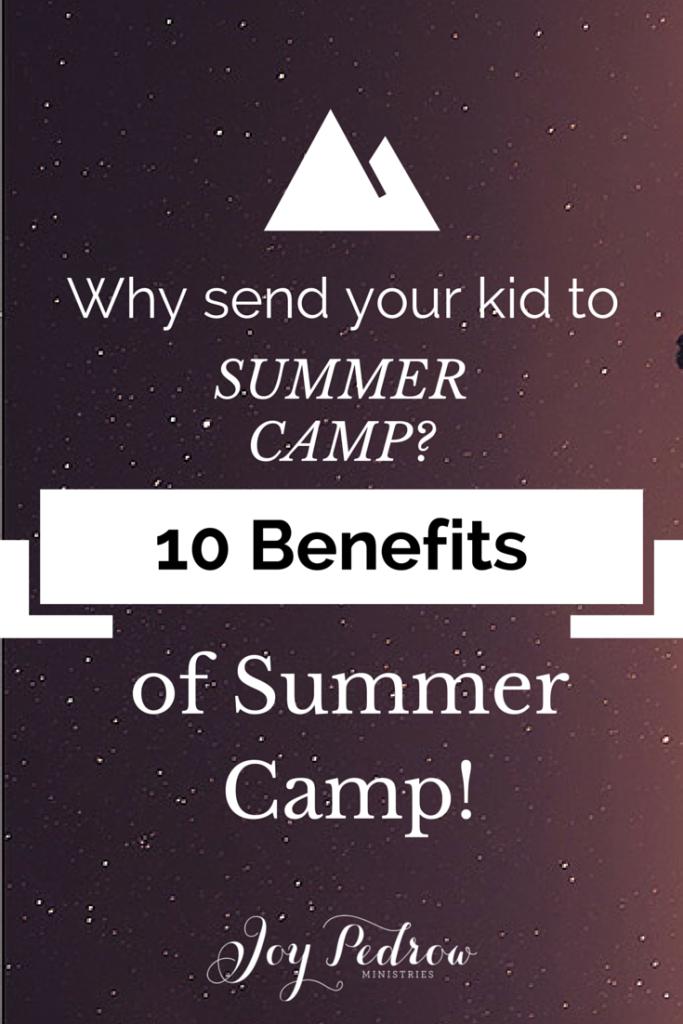 Jumonville summer camp
