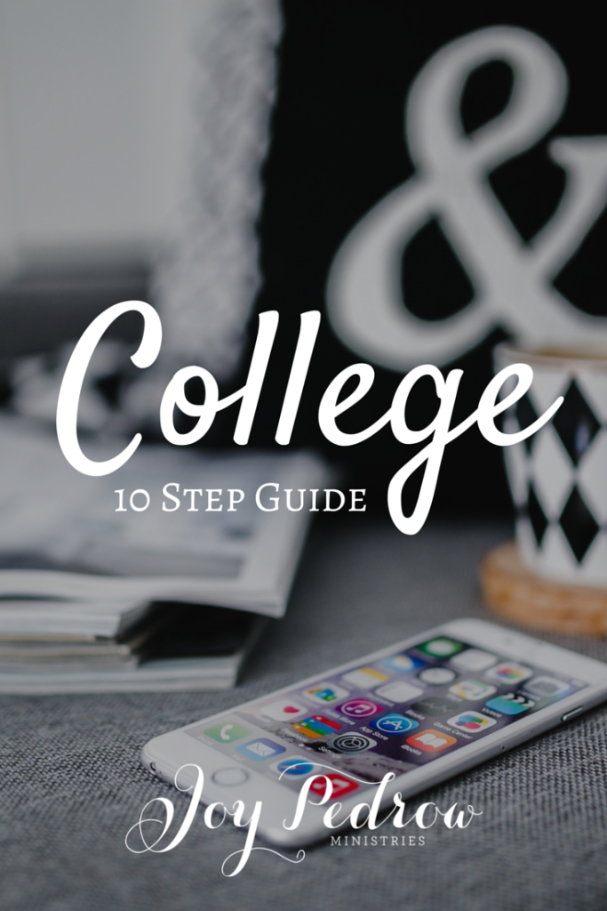 10 Step Guide to Transitioning to College