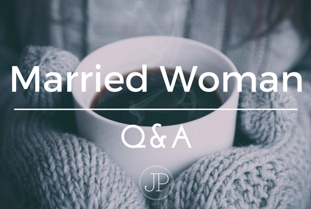 Married Woman Q&A