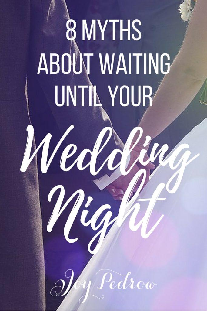 The Wedding Night | JoyPedrow.com