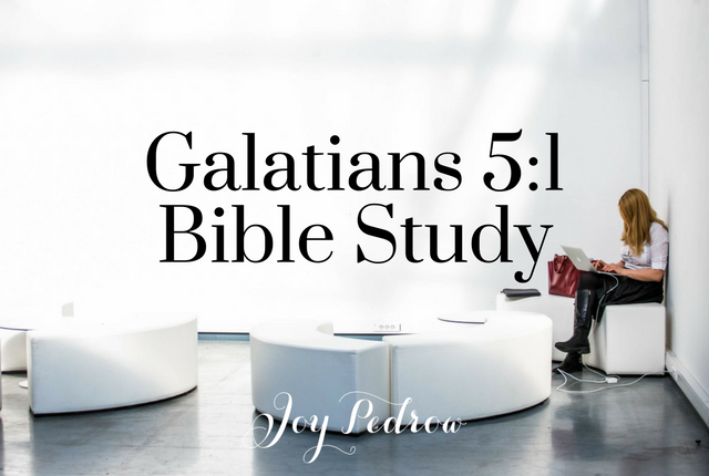 Galatians 5 Bible Study