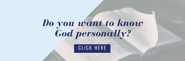 Do you want to know God personally_