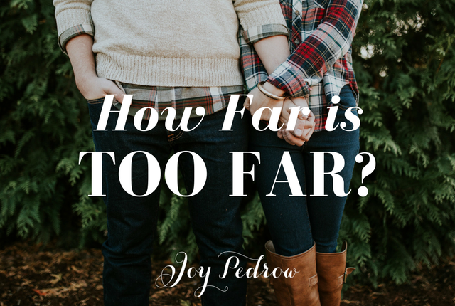 Christian Dating: How far is too far sexually?